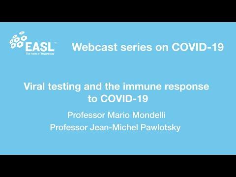 Embedded thumbnail for Viral testing and the immune response to COVID-19